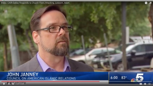 Video: CAIR-DFW Responds to Church Fliers Attacking Judaism, Islam