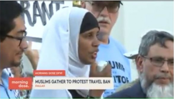 CAIR-DFW Organizes #StandWithMuslims Rally