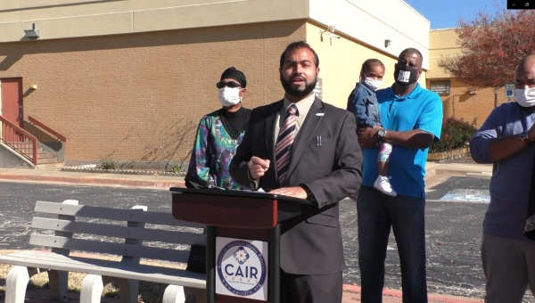 Press Conference: CAIR-DFW Calls on All Municipal Courts to Allow Religious Headcoverings, like the Hijab