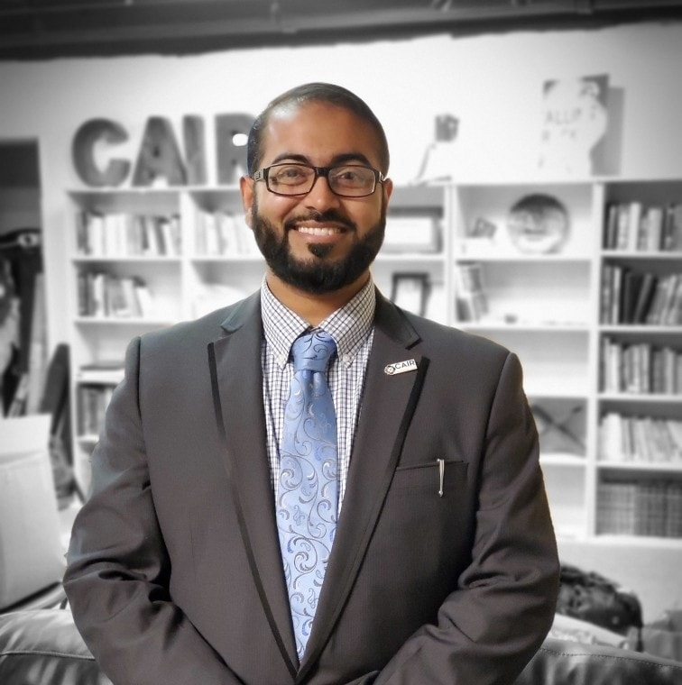 Faizan Syed, Executive Director of CAIR-Texas DFW