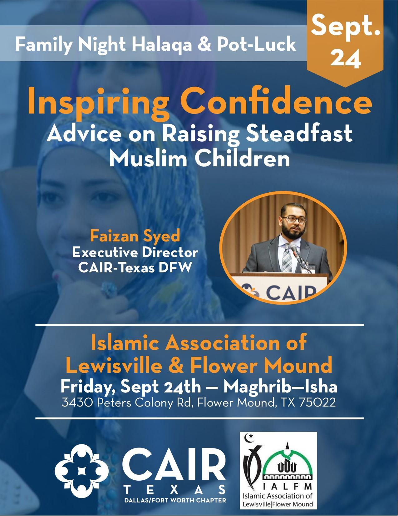 Inspiring Confidence: Raising Steadfast Muslim Children