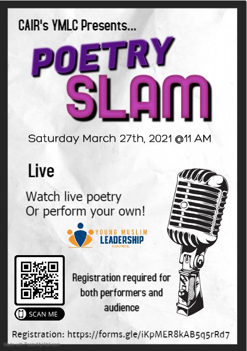 Young Muslim Poetry Slam